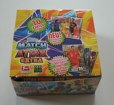 Match Attax EXTRA 2015/16 - Display 24 Booster Neu & OVP