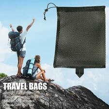 Outdoor Travel Package Bags Ultralight Mesh Stuff Sack Drawstring Storage Bag