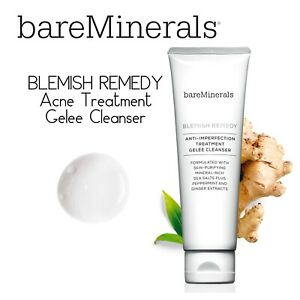 BARE MINERALS BLEMISH REMEDY ACNE TREATMENT GELEE CLEANSER