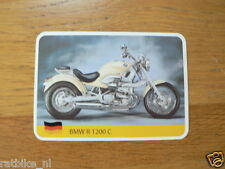 INFO CARD MOTORCYCLE BMW R1200C CRUISER