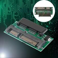1.8'' SDD 16Pin Micro SATA Female to 2.5'' 22Pin(7+15Pin) SATA Male Adapter Card