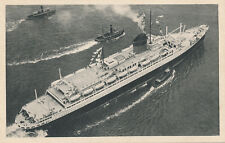 Shipping SS CHAMPLAIN French Line Transatlantic Steamer PPC