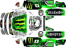 Losi 5ive T wrap decals stickers trophy truck TTBJMEV  hpi baja 5t  5sc woodster