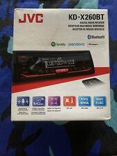 JVC KD-X260BT Digital Media Receiver DETACH FACE Bluetooth/USB/Pandora/In-Dash