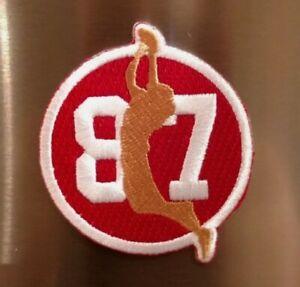 "Dwight Clark Memorial Magnet Patch- San Francisco 49ers ""The Catch"""