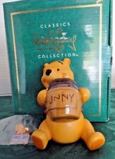 "WDCC  WINNIE THE POOH ""TIME FOR SOMETHING SWEET"" 1996 PORCELAIN FIGURINE & PIN!"