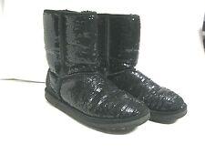 UGG Australia Black Sequin {Short Boot} Size 8