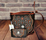 Montana West Concealed Carry Purse Wallet Embroidered Western Crossbody Bag