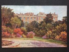 Vintage Postcard - London #H21 - Hampton Court, Palace From Gardens - Rob Hughes