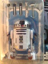 "STAR WARS 40th Anniversary 6"" R2-D2 Black Series Vintage VC Disney =RARE="
