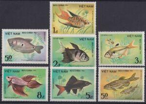F-EX20319 VIETNAM MNH 1984 SEA MARINE WILDLIFE FISH CORAL UNDERWATER LIFE