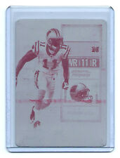 2010 PLAYOFF CONTENDERS BRANDON LAFELL RC PRINTING PLATE PATRIOTS #1/1