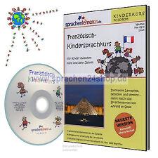FRANCESE IMPARARE per i bambini - kindersprachkurs SU CD
