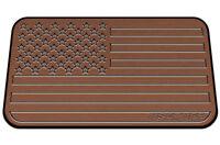 USATuff Cooler Pad for YETI 45qt - SeaDek Marine EVA Mat - T/B - USA Flag