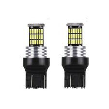Ampoule T20 LED W21W Veilleuse 46 Led Blanc xenon 6000K Canbus feux de jour 7440