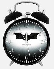 "Batman Alarm Desk Clock 3.75"" Home or Office Decor Y107 Nice For Gift"