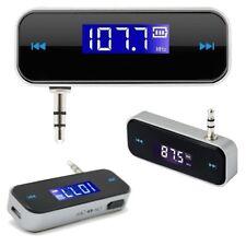 KFZ FM Transmitter Auto schnurlos Mp3 Freisprecheinrichtung 3,5 mm AUX Klinke