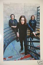 Tony Iommi from  Black Sabbath signed 20x30cm Foto , Autogramm / Autograph