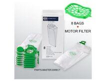 SEBO FELIX DART VACUUM CLEANER BAGS MODELS WITH MOTOR FILTER GENUINE PART 7029ER
