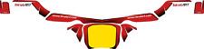 BIREL ART STYLE KG REAR BUMPER STICKER - KARTING -  JakeDesigns