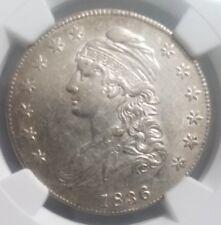 1836 capped bust half dollar. NGC AU 55. Lustrous Beauty!