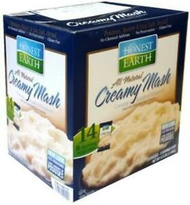 HONEST EARTH creamy mashed potatoes dry mashed potatoes 181g ~ 14 bags