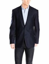 Vince Camuto Men's Modern-Fit 2 Button Side Vent Sport Coat 40 Regular Navy