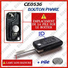Coque PLIP Télécommande Clé Boitier CITROEN C4 Picasso Bouton Phare CE0536 s r