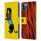 HEAD CASE PATTERNED SILHOUETTE LEATHER BOOK WALLET CASE FOR APPLE iPHONE PHONES