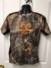 RealTree XTra Dri-More Tech Youth Boys Girls Camouflage Camo Shirt XL 14-16 185