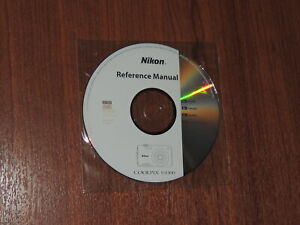 New Nikon OEM Genuine CD with User's Guide Instructions Manual for Coolpix S3300