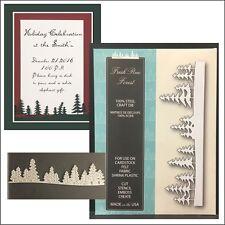 Fresh Pine Forest metal die  - Memory Box dies 99498 trees,pines,woods,evergreen