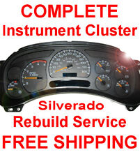 1999-2007 Chevy Silverado Instrument Gauge Cluster Speedometer Dash Panel Repair