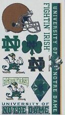 NCAA College NOTRE DAME University Temporary Tattoos Sheet by Wincraft Inc