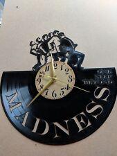 Madness 1 Vinyl Record Clock home decor gift