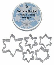Cookie Snowflake Cutter Copper Cutters Metal Christmas