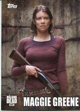 Walking Dead Season 5 Profiles Chase Card C-6 Maggie Greene