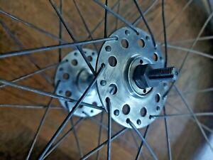 Roues 650 35B Aluminium moyeux PELISSIER SPORT jantes INTEGRA wheels hubs rims
