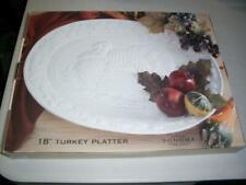 "Sonoma Home Goods 18"" Turkey Platter - New in Box"