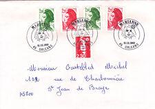 18243 Premier jour sur enveloppe ordinaire