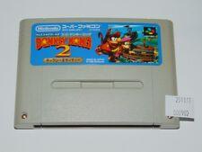 Super Famicom: Donkey Kong Country 2 (cartucho/cartridge)