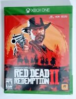 Red Dead Redemption II Xbox One Video Game Microsoft Rockstar Games New Sealed