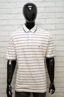 Polo TOMMY HILFIGER Maglia Forte Uomo Shirt Big Size Maglietta Manica Corta Hemd