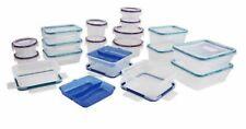 Snapware 38-Pc Plastic Food Storage Set Airtight Organizer Bpa Free Made in Usa