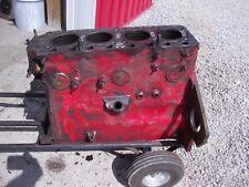 Massey Harris 33 Tractor Good Original Mh 4 Cylinder Gas Engine Motor Block
