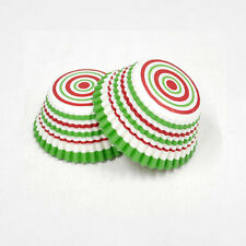 3oz Cupcake Liner 200 Pieces (Holiday Stripes)