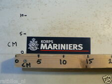 STICKER,DECAL KORPS MARINIERS