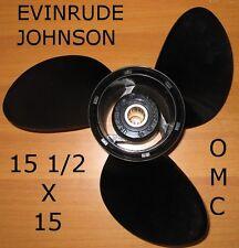 ELICA FUORIBORDO ORIGINALE 15 1/2x15 OMC EVINRUDE JOHNSON ALLUMINIO