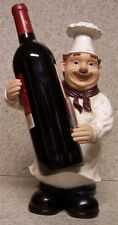 Wine Bottle Holder Seasonal Thanksgiving Sculpture Country Chef NEW