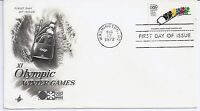 US Scott #1461, First Day Cover 8/17/72 Washington Single Olympic Winter Games